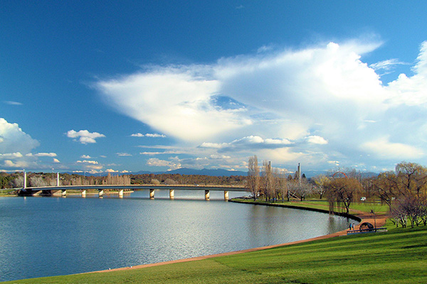 Hồ Burley Griffin canberra
