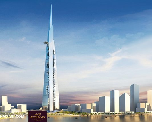 toa thap Kingdom Tower jeddah